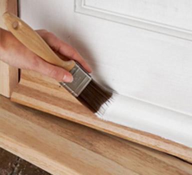 Tarimas y maderas de allende tarimas en monterrey for Pintura satinada blanca para puertas
